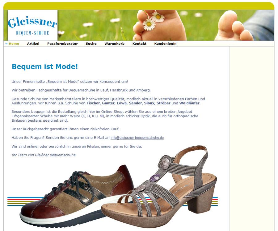 717c659fe011dd Eine Kundenschulung zur eigenständigen Verwaltung des Shops sowie Aufgaben  im Bereich SEO komplettierten den Leistungsumfang. www.bequemschuhe24.de